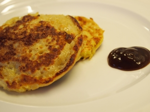 Eggy pikelets