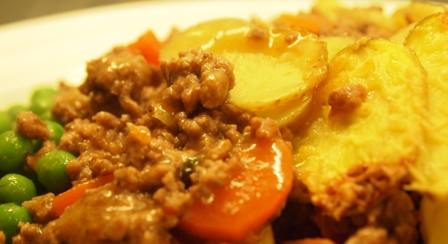 Healthy cottage pie