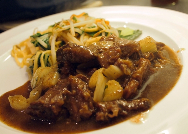 Chinese five-spice oxtail