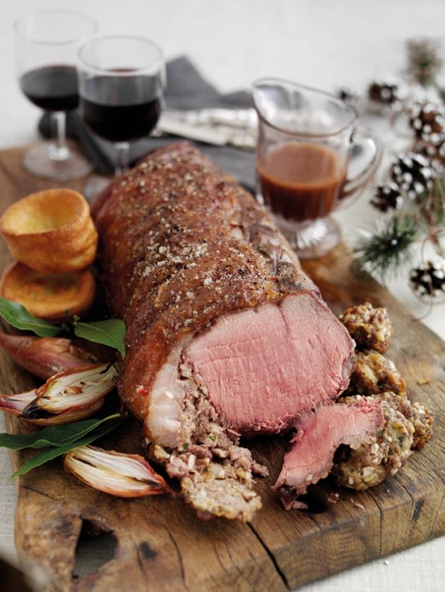 Welsh Beef festive challenge - sirloin roast