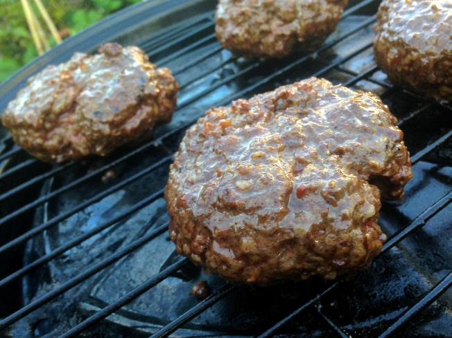 Burgers on the BBQ