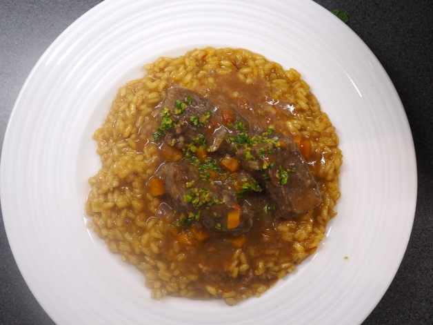 Osso Buco from above