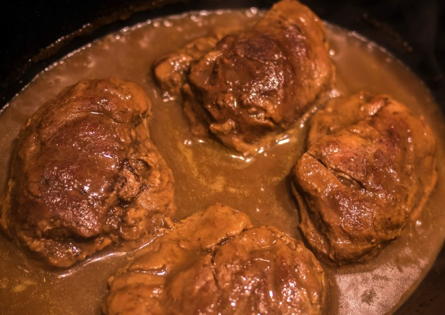 Pork embul recipe- reducing the sauce